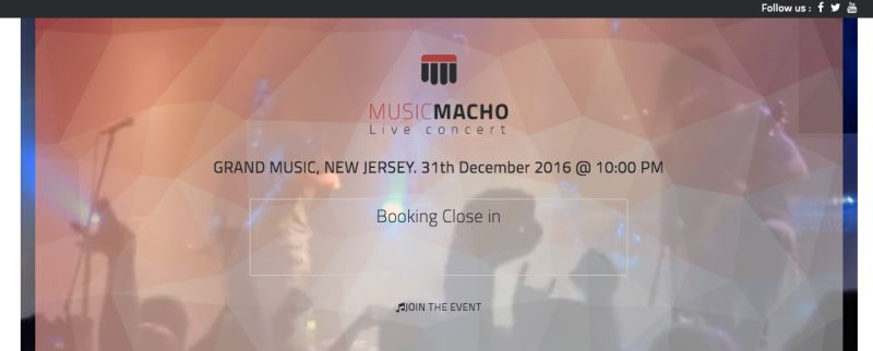 Tema wordpress Musicmacho