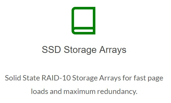 greengeeks ssd storage