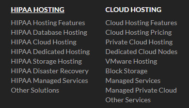 Hosting alternativer