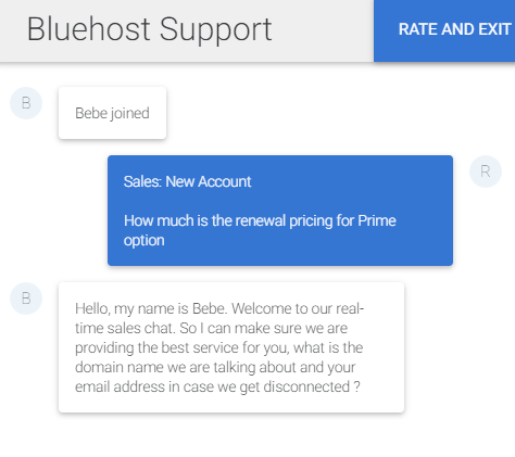 BlueHost-livechat