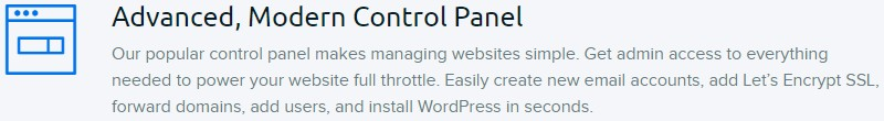 Dream avanserte-cpanel