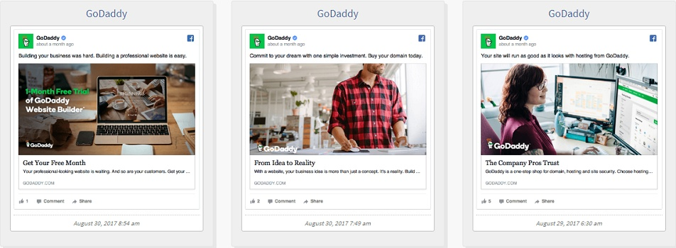 Godaddy ads