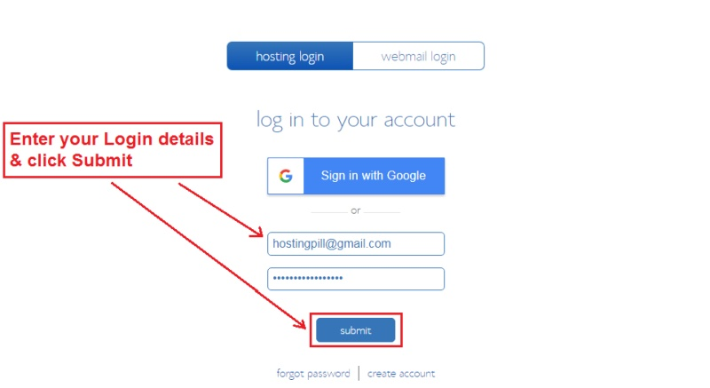 1 - Mag-login BlueHost