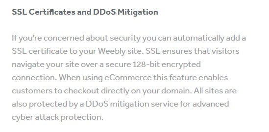 weebly ssl